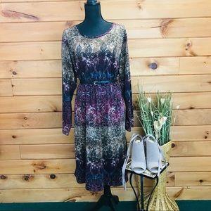 Cato Plus Size 💋 Gorgeous Fall Dress